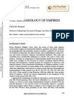 Sinopoli Archaeology of Empires