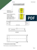 RC Solid Slab Bridge Design