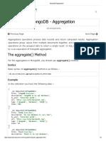 MongoDB Aggregation.pdf