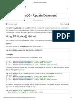 MongoDB Update Document.pdf