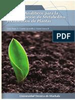 20 Metodos Analiticos Para La Determinacion de Metabolitos Secundarios de Plantas