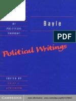 Bayle Political Writings.pdf