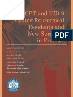 Coding for Surgeon | International Statistical