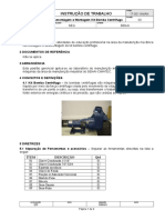 IT-002 NMAN Desmontagem e Montagem - Bomba Centrífuga