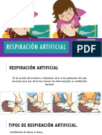 Respiración Artificial