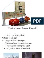 Machine and Power Electric