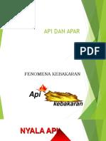 API Dan Apar