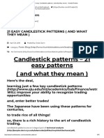 21 Easy Candlestick Patterns ( and What They Mean ) - HumbleTraders