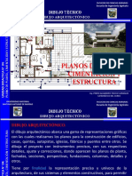 Unidad didáctica N° 04 01 - Dibujo arquitectónico Plano de planta, cimentación, estructura