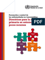 Directrices para la atención primaria en entornos con pocos recursos