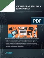 10 Aplicaciones Gratuitas Para Crear y Editar VIDEOS
