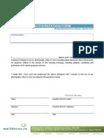 Event Authorization Form