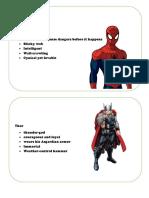 Year 5 Superheroes