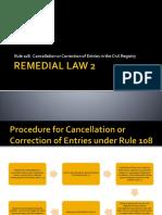 Report REM2_Rule 108-Final