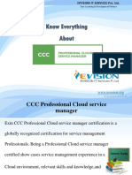 Professional Cloud Service Manager Training and Certification Course - ievision.org