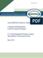 Leak Prevention Repair Guidelines