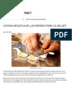 Cocina Molecular ¿Un Riesgo Para La Salud_ _ Paladar Gourmet