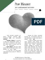Pop Heart Amigurumi Pattern