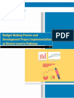 Budget Making Process and Development Project Implementation at District Level in Pakistan