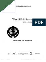 The Sikh Sansar USA-Canada Vol. 2 No. 1 March 1973 (Ghadar Issue - Part I)