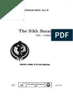 The Sikh Sansar USA-Canada Vol. 2 No. 2 June 1973 (Ghadar Issue - Part II)