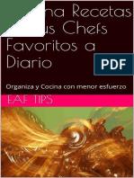 Cocina Recetas de Tus Chefs Fav - EAF Tips