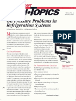 Oil Pressure Problems in Refrigeration Systems