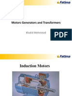 Basics and Working of AC Motors & Basics of Power Generator