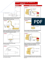 Recommended Methods for Taking Oil Samples