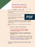 Digital Key Procedure