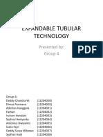 Group 4 - Expandable Tubular