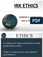 work ethics character morality integrity documents similar to work ethics character