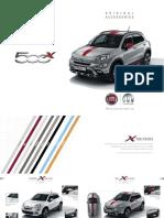 Fiat 500X Accessories Brochure