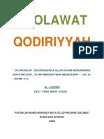 Kitab Sholawat Qodiriyyah