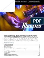 Maestro Owners Manual