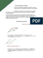 Vectores Definición y Concepto
