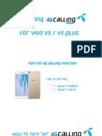VoLTE_วีธีการตั้งค่า มือถือ VIVO ENG