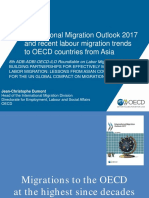 International Migration Outlook 2017 and Recent Labour Migration Trends to OECD Countries from Asia