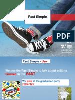 Past Simple - Verb to Be Regular Verbs