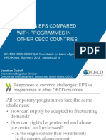Korea's EPS Compared with Programmes in Other OECD Countries