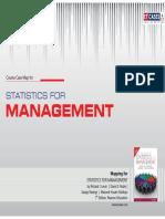 Statistics for Management - Course Case Map