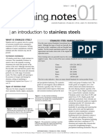 Introduction to Stainless Steels