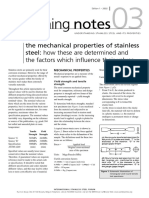 Properties of Stainless Steel