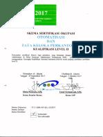 Skema Okupasi - Kualifikasi II Otomatisasi Dan Tata Kelola Perkantoran