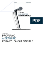3 Step Ansia Sociale