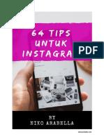 Ebook_Niko Arabella_64 Tips Untuk Instagram