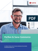 Perfion & Sana Commerce statten Ihren Out-of-the-Box Webshop mit wertvollen Produktinformationen aus