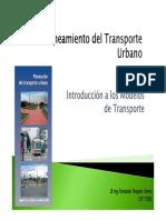 Sesion 2. Introduccion a Los Modelos de Transporte