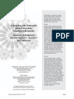 PROVIDELLO, Guilherme Gonzaga Duarte. YASUI, Silvio. A loucura em Foucault - arte e loucura, loucura e desrazão.pdf