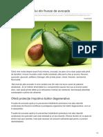 Avantajele Ceaiului Din Frunze de Avocado